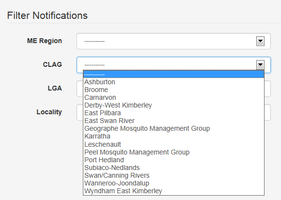 View notifications - CLAG